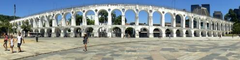 Arcos de Lapa, en el Centro. 2014