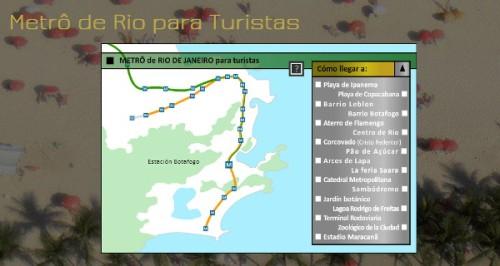 Metro para Turistas